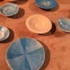 レーザーカッターによる陶器の装飾