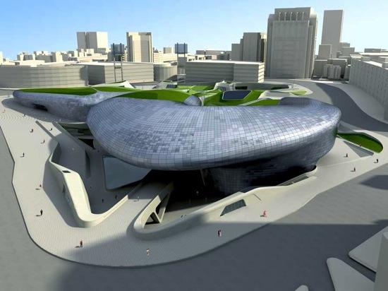 Dongdaemun design park plaza zha200509 1