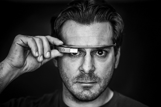 Google Glass Man